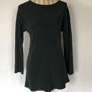 Ronaldus Shamask 100% silk tunic style blouse sz S